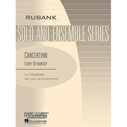 Rubank Publications Concertino (Trombone Solo with Piano - Grade 5) Rubank Solo/Ensemble Sheet Series