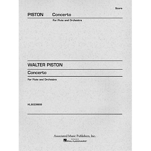 Associated Concerto (1971) (Miniature Full Score) Study Score Series Composed by Walter Piston