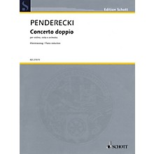 Schott Concerto Doppio String Series Softcover Composed by Krzysztof Penderecki