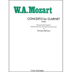 Carl Fischer Concerto For Clarinet K622