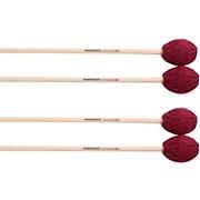 Malletech Concerto Marimba Mallets Set of 4 (2 Matched Pairs)