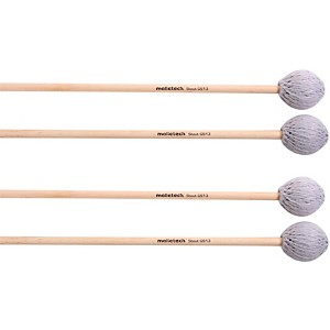 Malletech Concerto Marimba Mallets Set of 4 2 Matched Pairs by