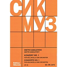 Sikorski Concerto No. 1, Op. 49 (Cello and Piano Reduction) String Series Softcover