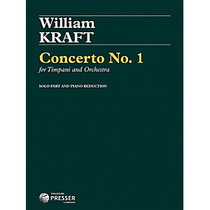 Carl Fischer Concerto No. 1 for Timpani and Orchestra by Carl Fischer