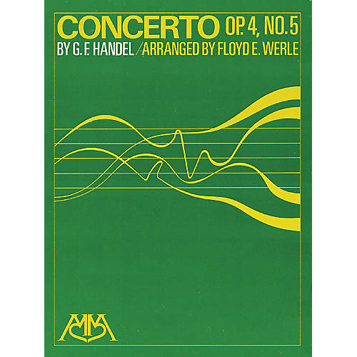 Hal Leonard Concerto Op. 4, No. 5 Concert Band Arranged by Floyd E. Werle