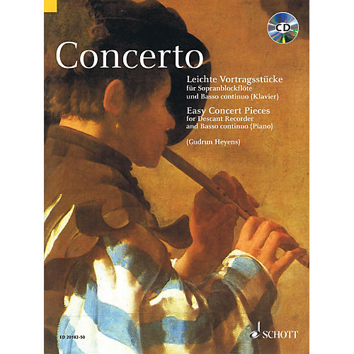 Schott Concerto Schott Series Softcover with CD  by Various Edited by Gudrun Heyens