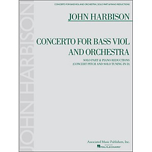 G. Schirmer Concerto for Bass Viol and Orchestra Double Bass and Piano Redu...