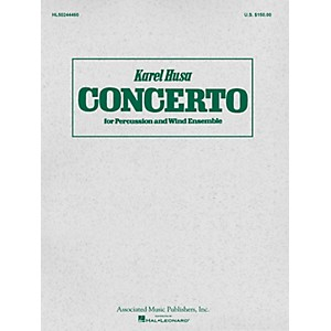Associated Concerto for Percussion and Wind Ensemble Study Score G. Schir... by Associated