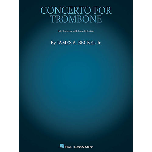 Hal Leonard Concerto for Trombone (Trombone with Piano Reduction) Brass Solo Series Softcover