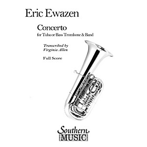 Southern Concerto for Tuba or Bass Trombone Band/Band Rental Concert Band... by Southern