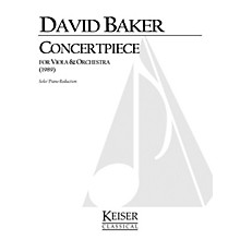 Lauren Keiser Music Publishing Concertpiece (Viola with piano) LKM Music Series Composed by David Baker