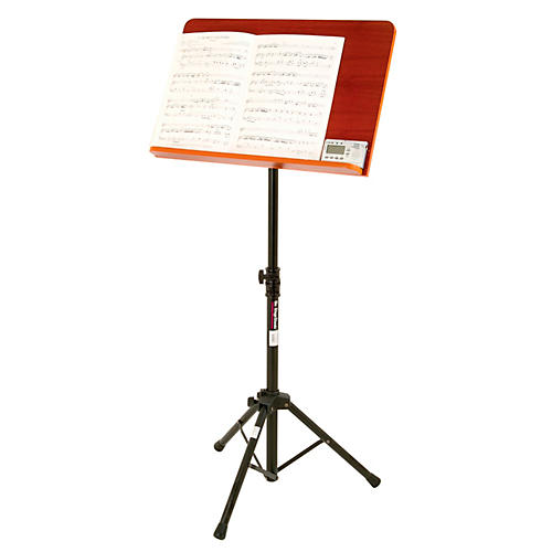 On-Stage Stands Conductor Stand with Wide Wooden Bookplate-thumbnail