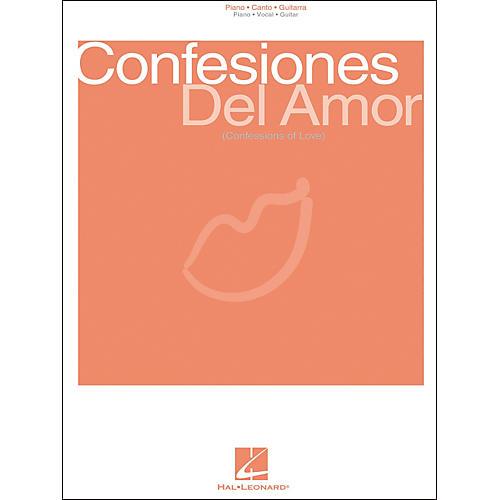 Hal Leonard Confesiones Del Amor Piano, Vocal, Guitar Songbook