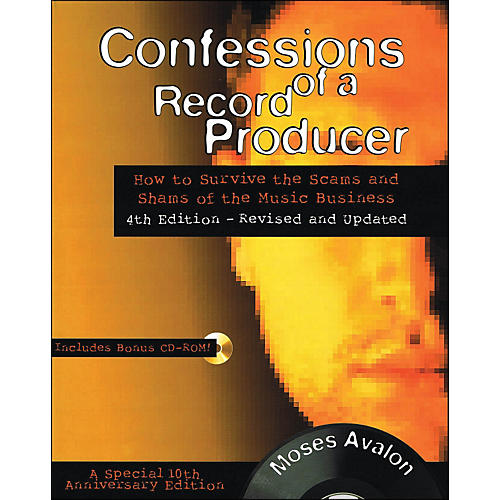 Backbeat Books Confessions Of A Record Producer Book/CD-Rom