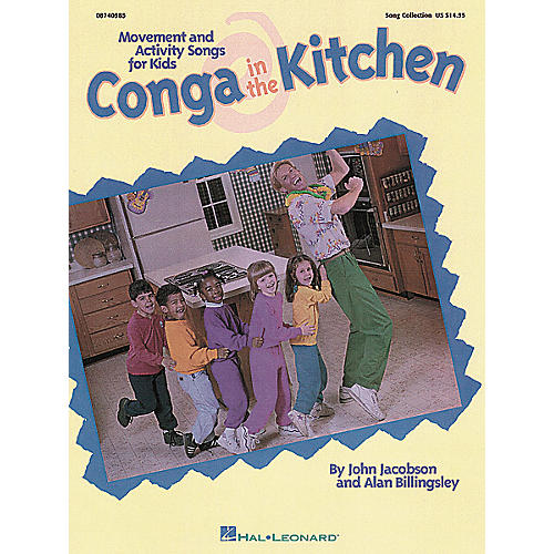 Hal Leonard Conga In the Kitchen Song Collection-thumbnail
