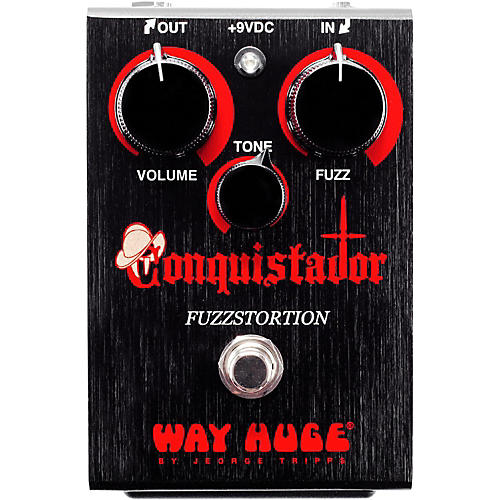 Way Huge Electronics Conquistador Fuzzstortion Effects Pedal-thumbnail