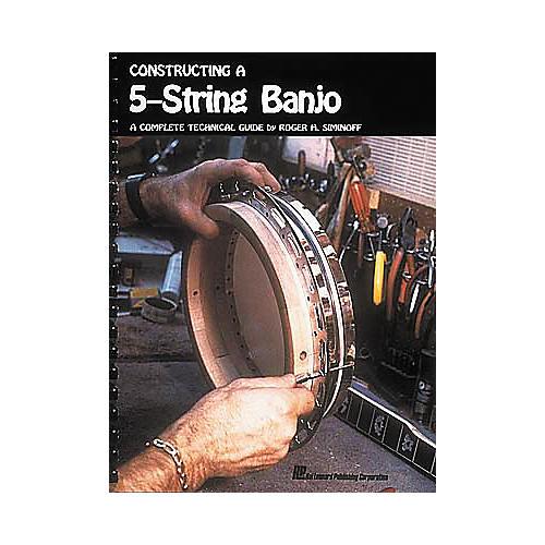 Hal Leonard Constructing a 5-String Banjo Book-thumbnail