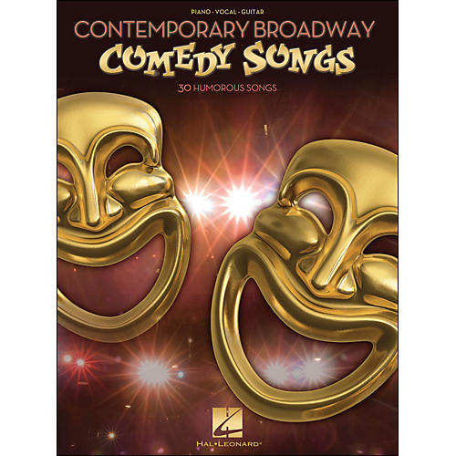 Hal Leonard Contemporary Broadway Comedy Songs arranged for piano, vocal, and guitar (P/V/G)