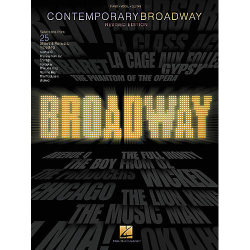 Hal Leonard Contemporary Broadway Piano/Vocal/Guitar Songbook