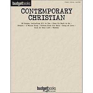 Hal Leonard Contemporary Christian - Budget Books arranged for piano, vocal...