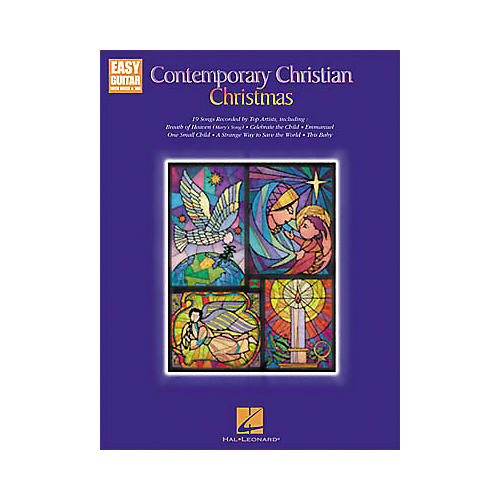 Hal Leonard Contemporary Christian Christmas Easy Guitar Book-thumbnail