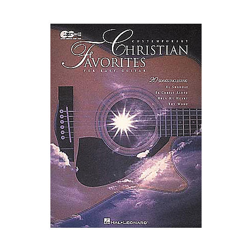 Hal Leonard Contemporary Christian Favorites Guitar Tab Book-thumbnail