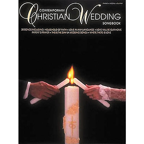 Hal Leonard Contemporary Christian Wedding Songbook Piano/Vocal/Guitar Songbook