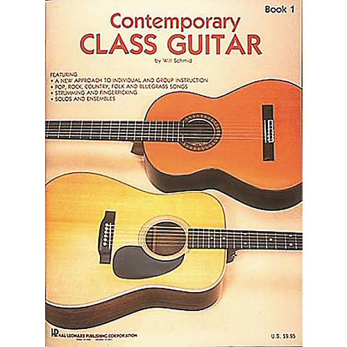 Hal Leonard Contemporary Class Guitar 1 Method Book-thumbnail