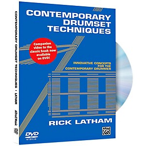 Alfred Contemporary Drumset Techniques DVD by Alfred