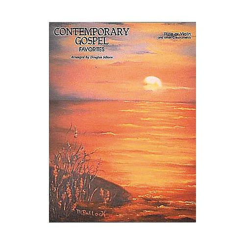 Hal Leonard Contemporary Gospel Favorites Book