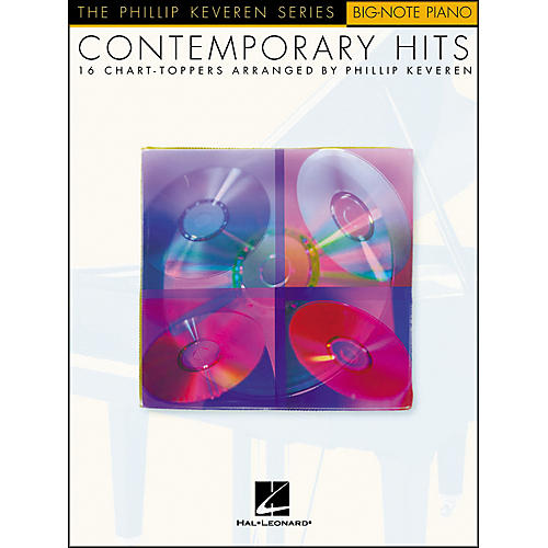 Hal Leonard Contemporary Hits - Phillip Keveren Series for Big Note Piano-thumbnail