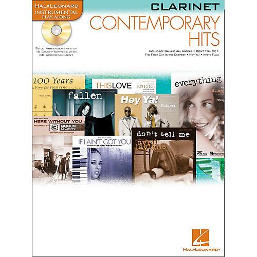 Hal Leonard Contemporary Hits for Clarinet Book/CD Instrumental Play-Along-thumbnail