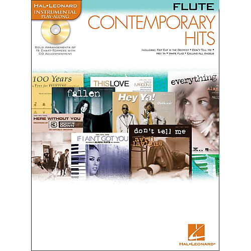 Hal Leonard Contemporary Hits for Flute Book/CD Instrumental Play-Along-thumbnail