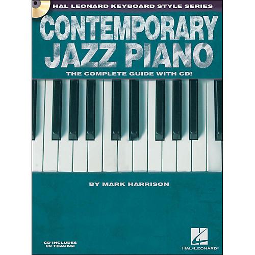 Hal Leonard Contemporary Jazz Piano (Book/CD) - Hal Leonard Keyboard Style Series-thumbnail