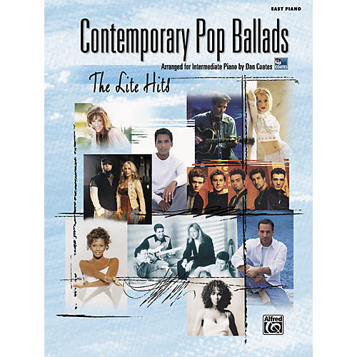 Alfred Contemporary Pop Ballads The Lite Hits Easy Piano Songbook-thumbnail