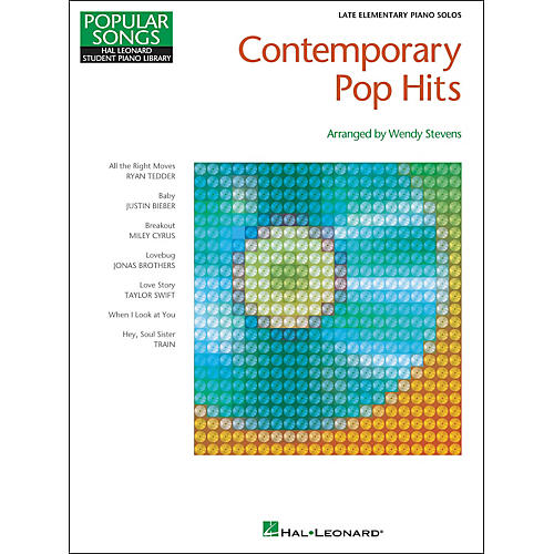 Hal Leonard Contemporary Pop Hits - Late Elementary Piano Solos Songbook