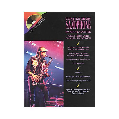 Hal Leonard Contemporary Saxophone (Book/CD)-thumbnail