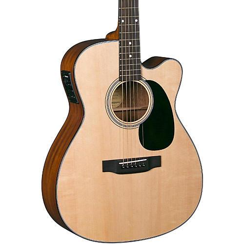 Blueridge Contemporary Series BR-43CE Cutaway 000 Acoustic-Electric Guitar-thumbnail