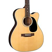 Contemporary Series BR-63CE Cutaway 000 Acoustic-Electric Guitar Natural
