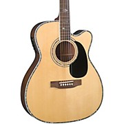 Contemporary Series BR-73CE Cutaway 000 Acoustic-Electric Guitar Natural