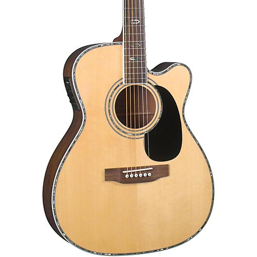 Blueridge Contemporary Series BR-73CE Cutaway 000 Acoustic-Electric Guitar Natural