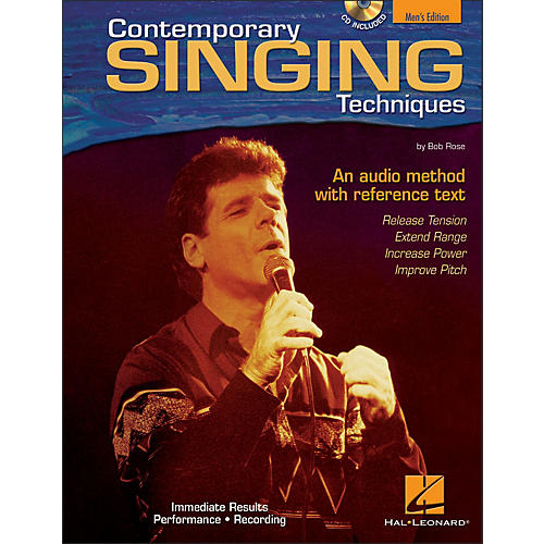 Hal Leonard Contemporary Singing Techniques - Men's Edition Book/CD