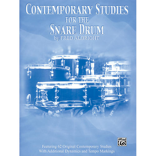 Alfred Contemporary Studies for the Snare Drum Book