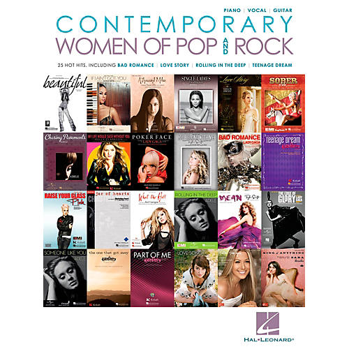 Hal Leonard Contemporary Women Of Pop & Rock Piano/Vocal/Guitar Songbook-thumbnail