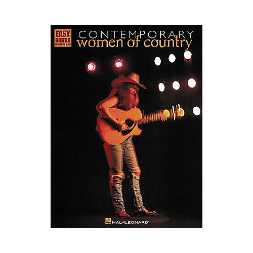 Hal Leonard Contemporary Women of Country Easy Guitar Book