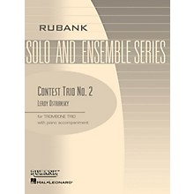 Rubank Publications Contest Trio No. 2 Rubank Solo/Ensemble Sheet Series Composed by Leroy Ostransky