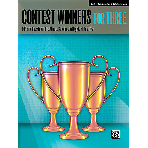 Alfred Contest Winners for Three Book 2  Late Elementary / Early Intermediate Piano-thumbnail