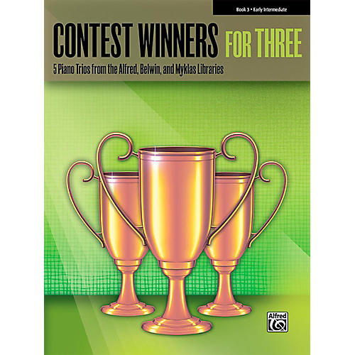 Alfred Contest Winners for Three Book 3  Early Intermediate Piano