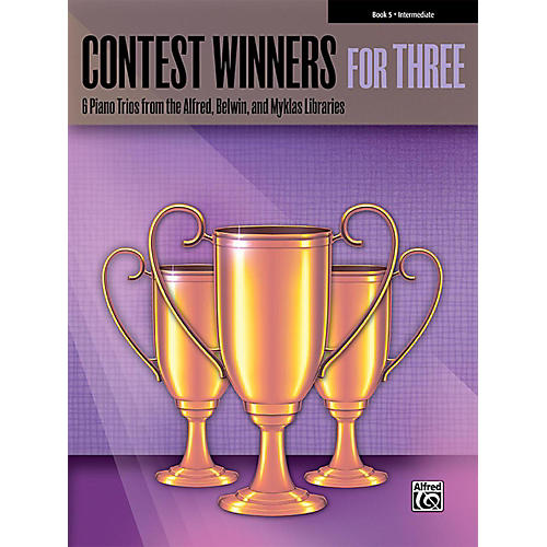 Alfred Contest Winners for Three Book 5 Intermediate Piano-thumbnail