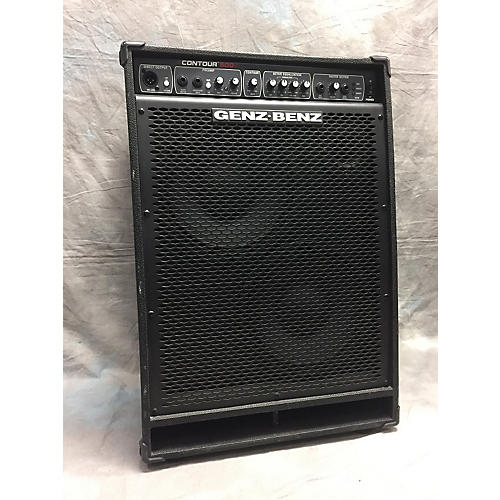 used genz benz contour 500w 2x10 bass combo amp guitar center. Black Bedroom Furniture Sets. Home Design Ideas